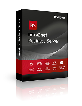 Intra2net Business Server inklusive Firewall, Mail Server und Groupware