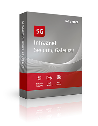 Intra2net Security Gateway inklusive Firewall, Spamschutz und Antivirus